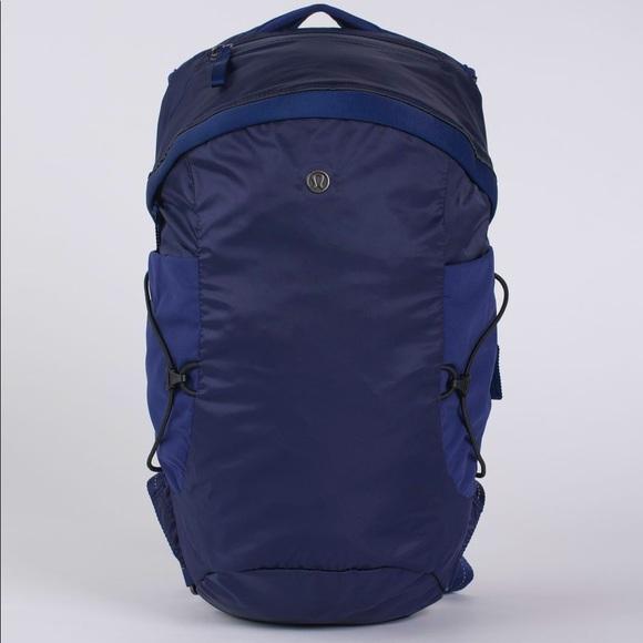 Lululemon Run All Day Backpack II Blueberry Jam